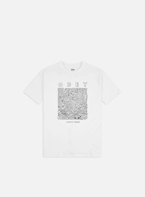 Short Sleeve T-shirts Obey Obey Creative Dissent Classic T-shirt