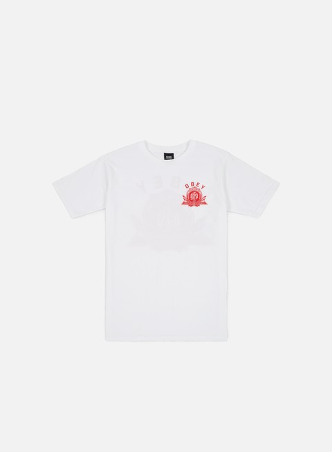 Short Sleeve T-shirts Obey Obey Creative Dissent Monogram T-shirt