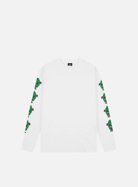 Outlet e Saldi T-shirt a Manica Lunga Obey Obey Creech Basic LS T-shirt