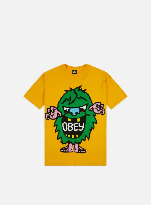 T-shirt a Manica Corta Obey Obey Creech Heavyweight Classic Box T-shirt