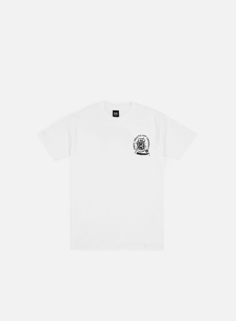 t shirt obey obey death e dissent t shirt white