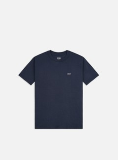 Obey - Obey Deco Flower Classic T-shirt, Navy