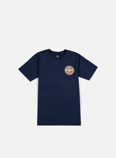 Obey - Obey Dissent MFG Wreath T-shirt, Navy 1