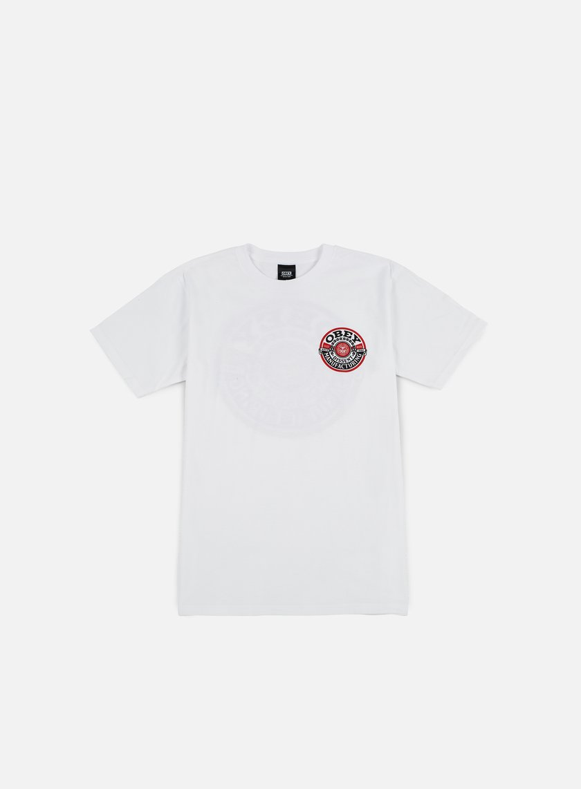 Obey - Obey Dissent MFG Wreath T-shirt, White