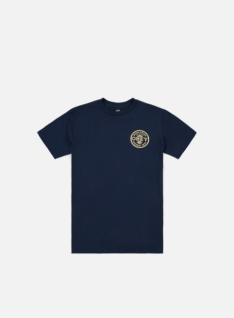 t shirt obey obey dissent standards t shirt navy