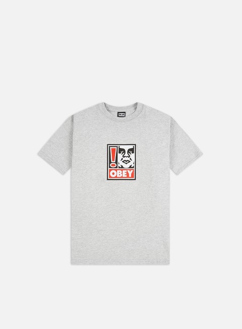 T-shirt a Manica Corta Obey Obey Exclamation Point Heavyweight T-shirt