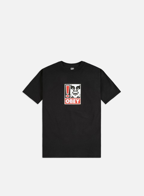 Short Sleeve T-shirts Obey Obey Exclamation Point Heavyweight T-shirt