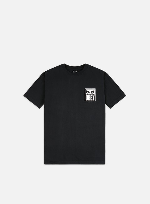 T-shirt a Manica Corta Obey Obey Eyes Icon 2 Heavyweight T-shirt