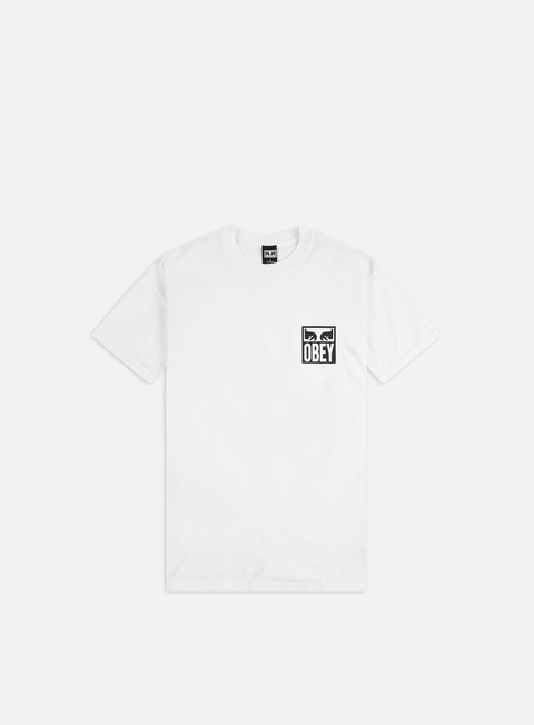 Short Sleeve T-shirts Obey Obey Eyes Icon 2 Heavyweight T-shirt