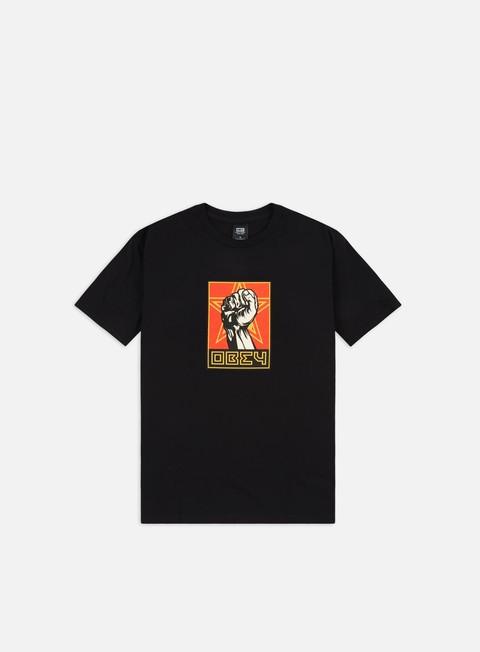 T-shirt a Manica Corta Obey Obey Fist 30 Years Basic T-shirt