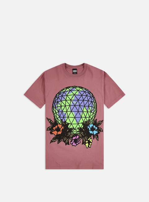 Short Sleeve T-shirts Obey Obey Floral Globe Heavyweight