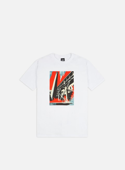 Short Sleeve T-shirts Obey Obey Fossil Factory Basic T-shirt
