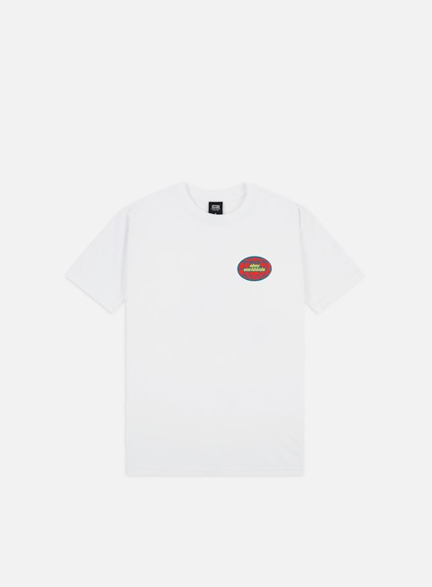 Outlet e Saldi T-shirt a Manica Corta Obey Obey Global Worldwide Basic T-shirt