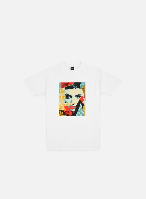 t shirt obey obey ideal power t shirt white