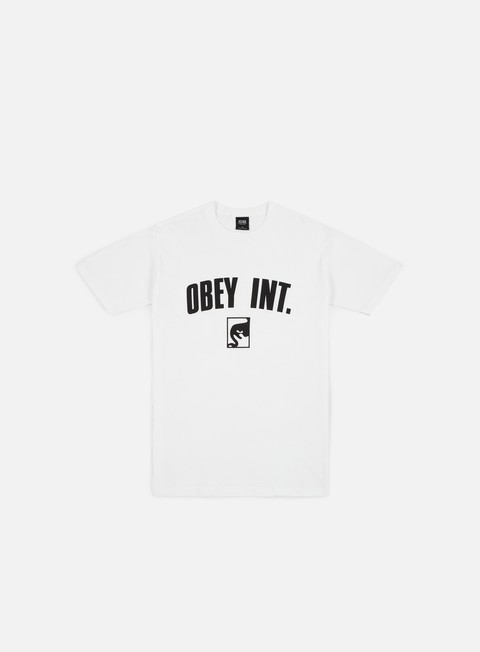t shirt obey obey int t shirt white
