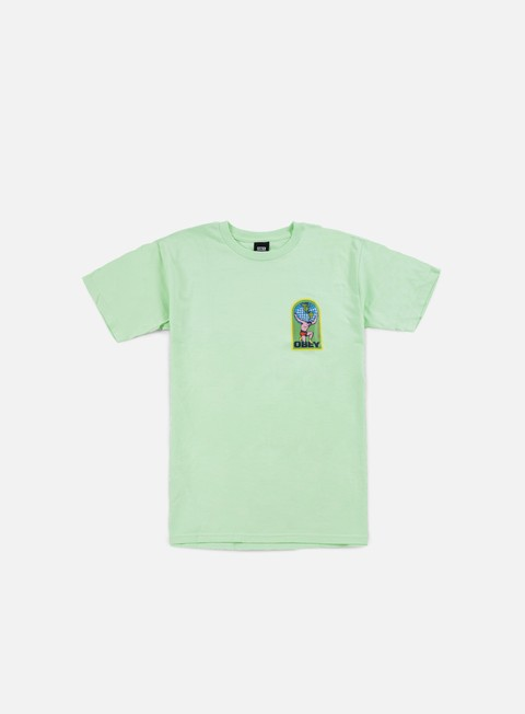 Outlet e Saldi T-shirt a Manica Corta Obey Obey International T-shirt