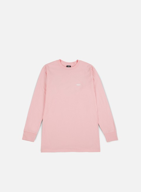 t shirt obey obey jumble lo fi ls t shirt pink