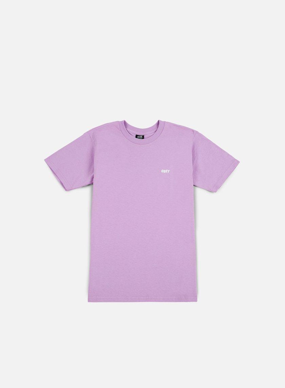 Obey - Obey Jumble Lo-Fi T-shirt, Lavander Blue