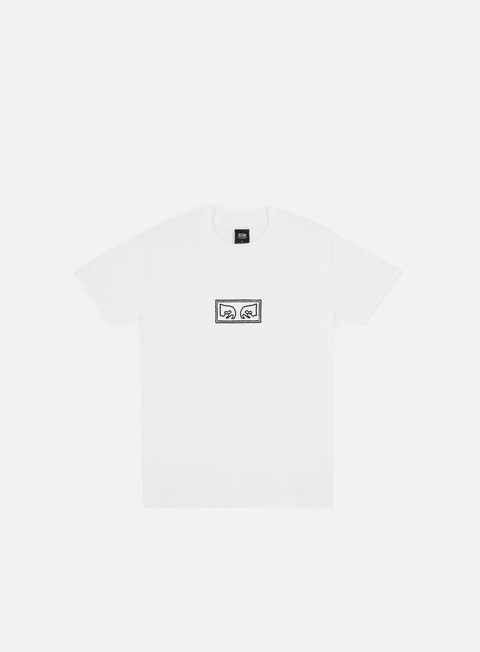 t shirt obey obey jumbled eyes t shirt white