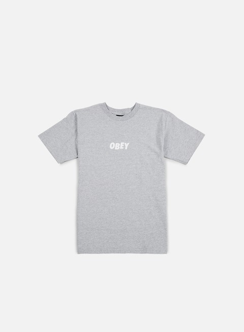 t shirt obey obey jumbled t shirt heather grey