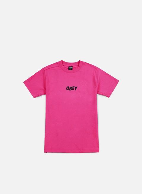 Outlet e Saldi T-shirt a Manica Corta Obey Obey Jumbled T-shirt
