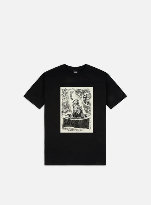Short Sleeve T-shirts Obey Obey Liberty Etching Basic T-shirt