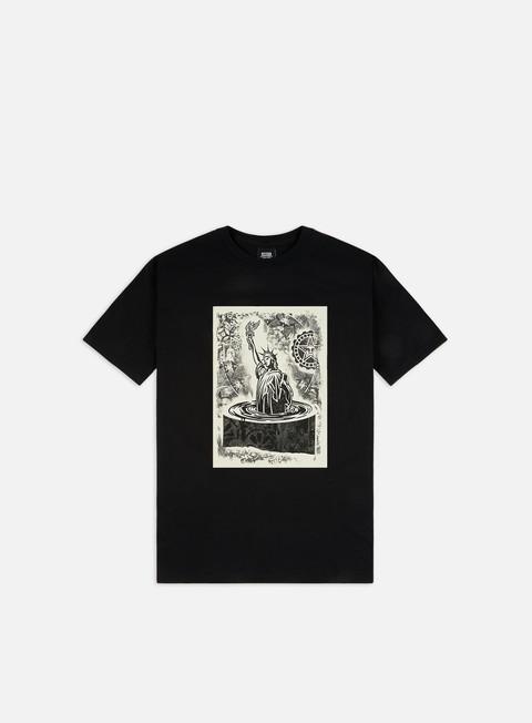 Outlet e Saldi T-shirt a Manica Corta Obey Obey Liberty Etching Basic T-shirt