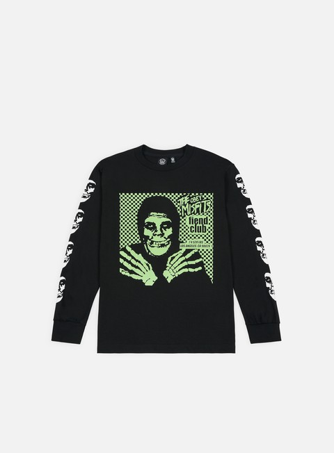 Long Sleeve T-shirts Obey Obey Misfits Fiend Club Halloween LS T-shirt