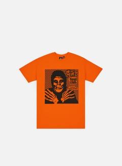 Obey - Obey Misfits Fiend Club Halloween T-shirt, Orange