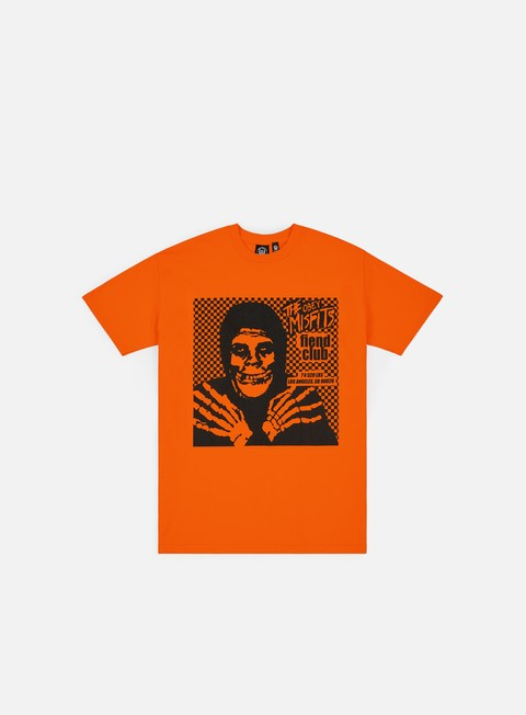 Sale Outlet Short Sleeve T-shirts Obey Obey Misfits Fiend Club Halloween T-shirt