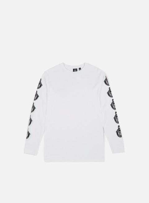 Outlet e Saldi T-shirt a manica lunga Obey Obey Misfits Fiend Club LS T-shirt