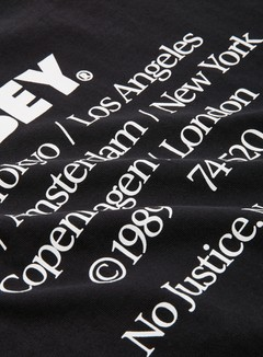 Obey Obey No Justice No Peace Heavyweight T-shirt