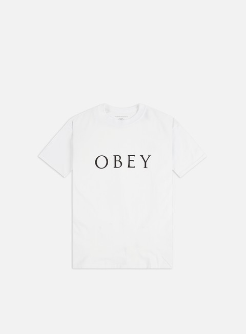 Short Sleeve T-shirts Obey Obey Novel 2 Sustainable T-shirt