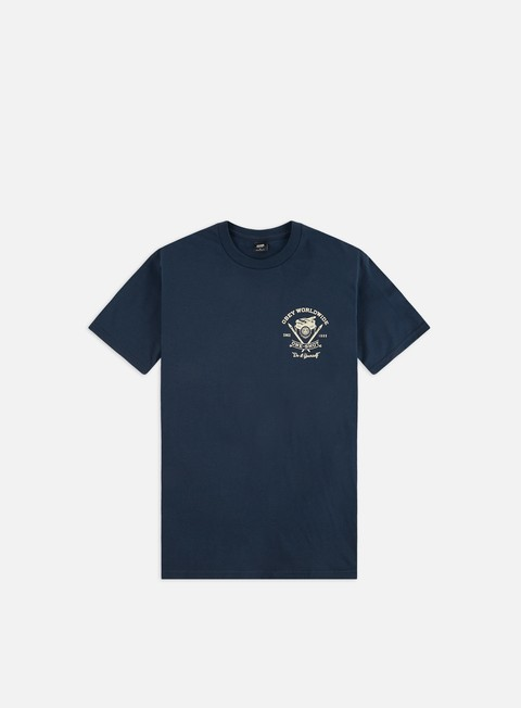 Outlet e Saldi T-shirt a Manica Corta Obey Obey One- Shot Basic T-shirt
