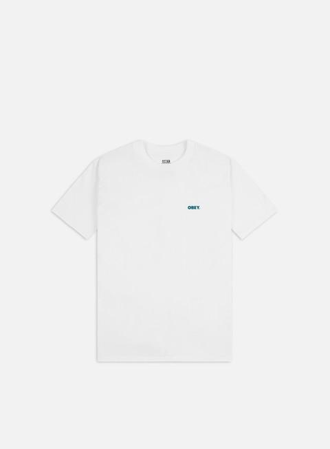 Outlet e Saldi T-shirt a Manica Corta Obey Obey Organic Flower Classic T-shirt