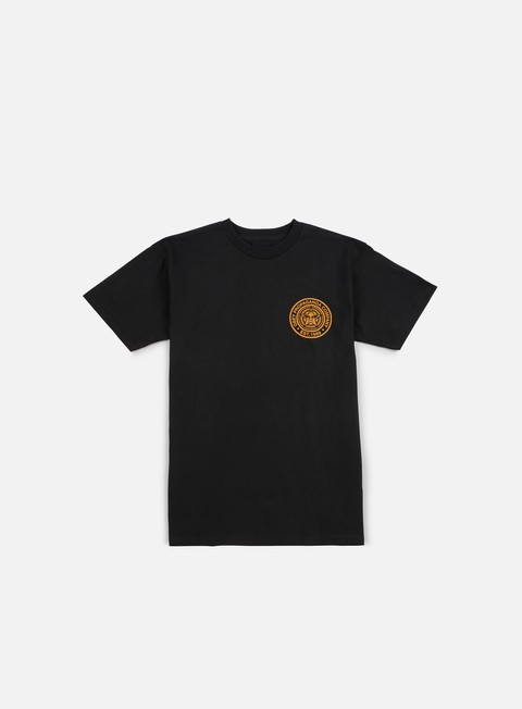 t shirt obey obey propaganda company t shirt black gold