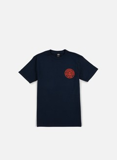 Obey - Obey Propaganda Company T-shirt, Navy/Red