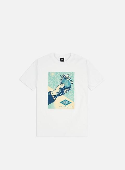 Outlet e Saldi T-shirt a Manica Corta Obey Obey Royal Treatment Basic T-shirt