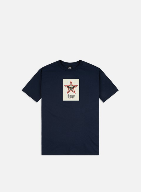 Outlet e Saldi T-shirt a Manica Corta Obey Obey Salad Days Basic T-shirt