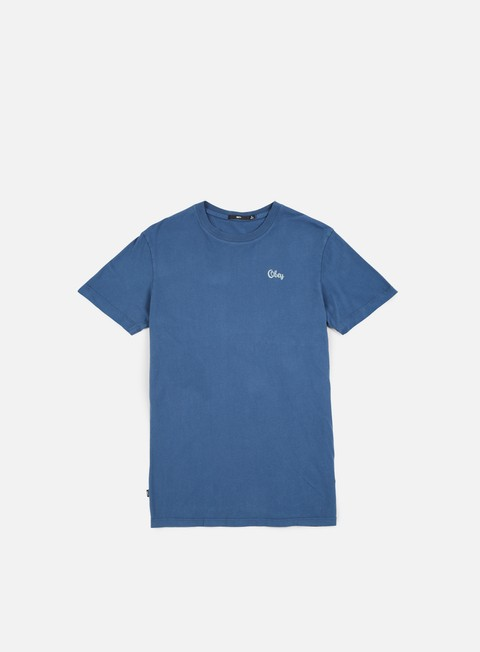 t shirt obey obey script t shirt insignia blue