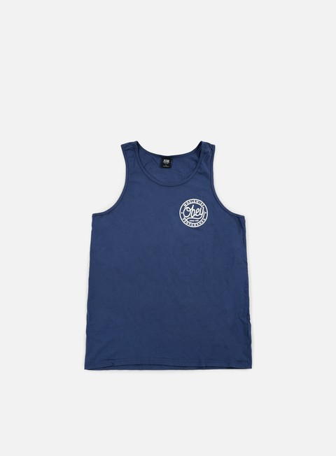 t shirt obey obey since 1989 premium tank navy
