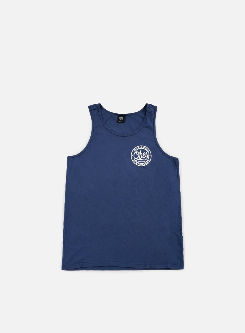 Obey - Obey Since 1989 Premium Tank, Navy