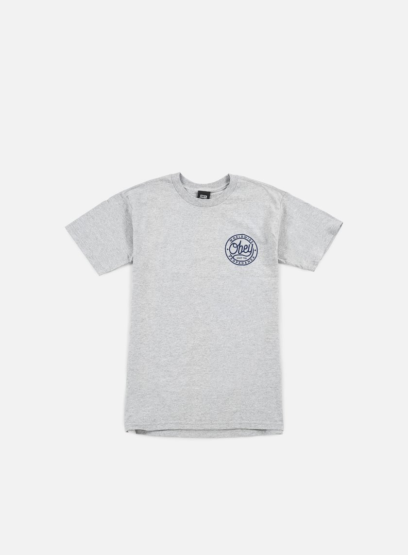 Obey - Obey Since 1989 T-shirt, Heather Grey