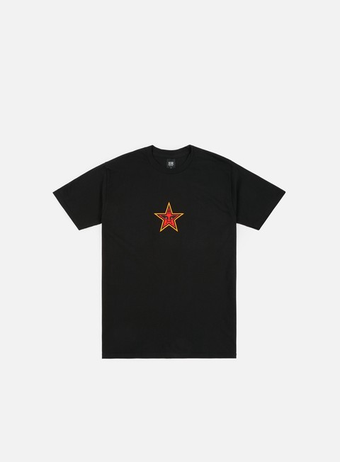 t shirt obey obey star face t shirt black