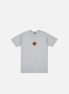 Obey - Obey Star Face T-shirt, Heather Grey