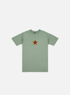 Obey - Obey Star Face T-shirt, Sage