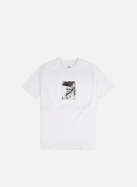 Sale Outlet Short Sleeve T-shirts Obey Obey Street Scene Shepard Classic T-shirt
