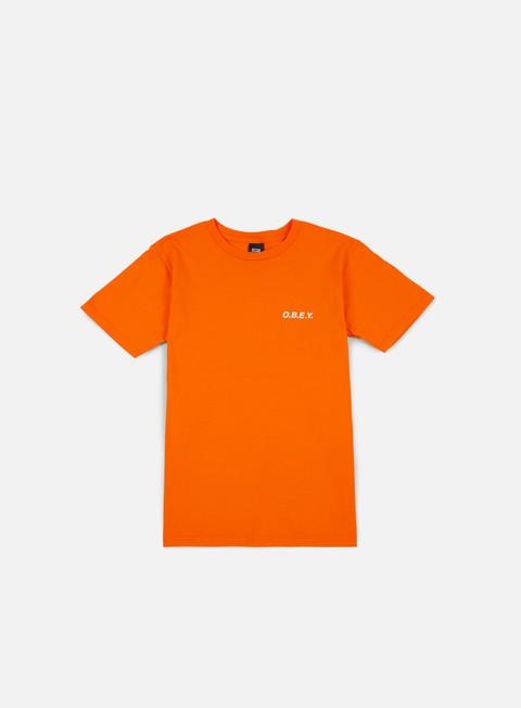 t shirt obey obey t shirt orange