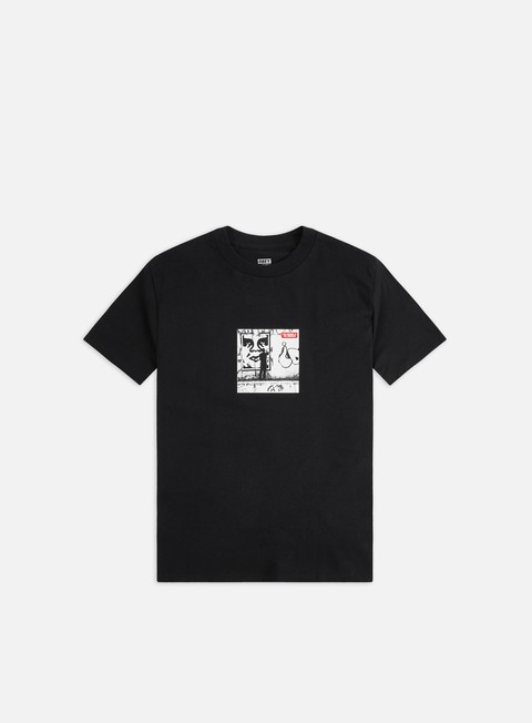 Short Sleeve T-shirts Obey Obey The Medium Is The Message Classic T-shirt