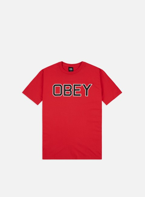 Outlet e Saldi T-shirt a Manica Corta Obey Obey Tough Basic T-shirt